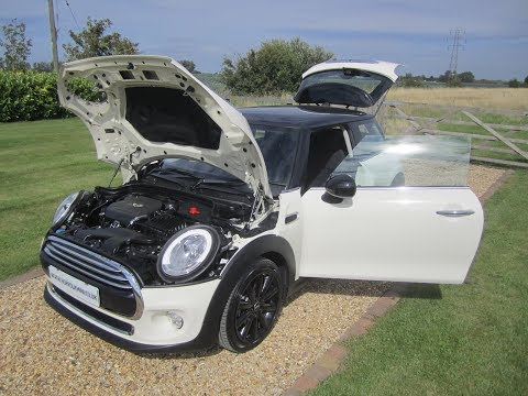 Mini F56 Cooper Diesel Automatic Chilli Media XL pack white
