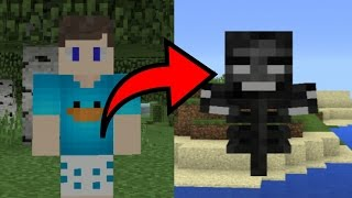SAIU !!! COMO SE TRANSFORMAR NOS MOBS DO MINECRAFT PE ! (Minecraft Pocket Edition)