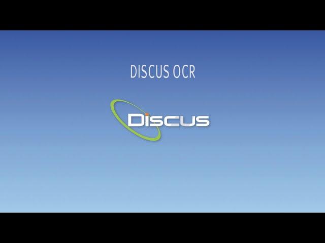 DISCUS OCR