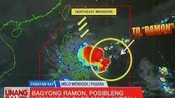 UB: Bagyong Ramon, posibleng lumakas pa bago mag-landfall