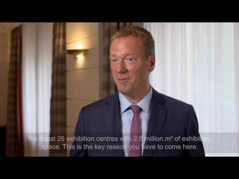 Philip Harting, Harting Technology Group, about the role of trade fairs