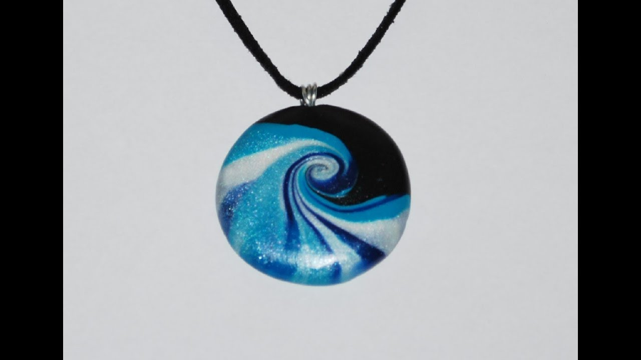 the hollow shared bead a up clever is pendant great some artist who tutorials sandrartes amazing her liquid translucent by video has portuguese clay first jewelry polymer