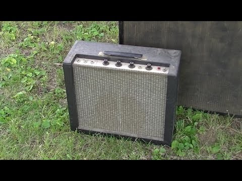 A Quartet of 60s Harmony Tube Amps - H410A Service & DEMO