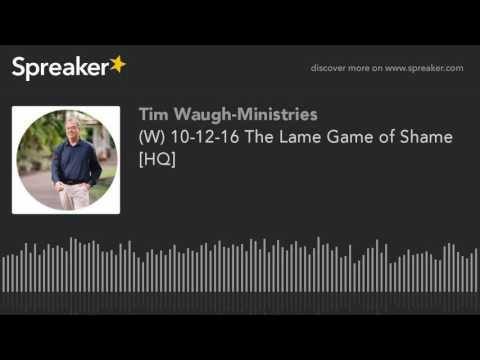 (W) 10-12-16 The Lame Game of Shame [HQ]