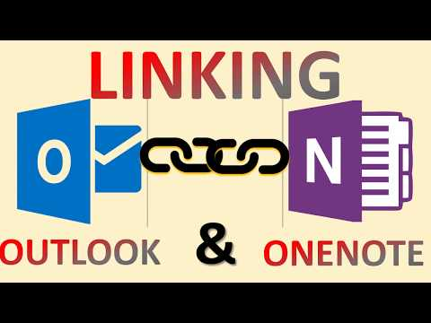 Make The Connection Between OneNote And Outlook