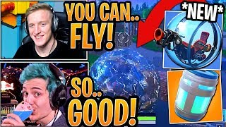 streamers-first-time-using-the-new-baller-vehicle-new-healing-animations-fortnite-moments