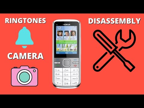 Nokia C5-00 Recenzja/Review/Ringtones/Repair/Disassembly/Demontaż.