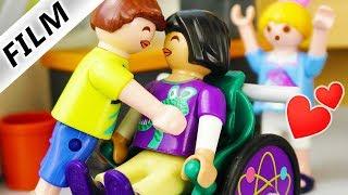 Playmobil Film deutsch   BECKYS 1. KUSS mit 7. Klässler Schwarm - Sind sie zusammen? Familie Vogel