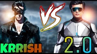 Krrish Vs Robot 2.0 - Who Would Win a Fight