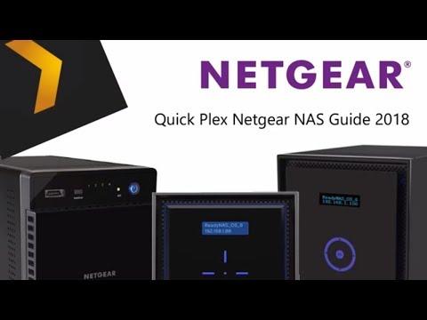 Plex Netgear NAS Guide 2018