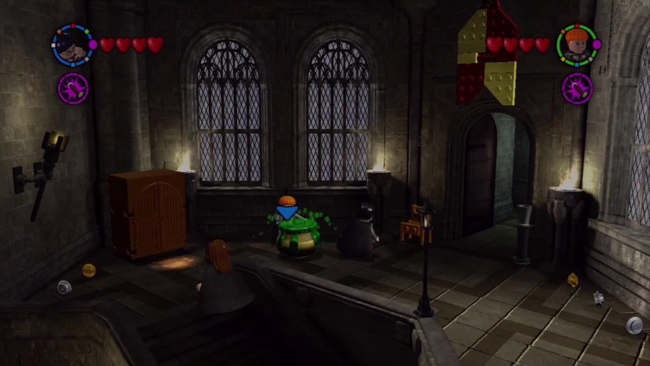 Lego Harry Potter Years 1 4 Walkthrough Part 34 Hogwarts Free