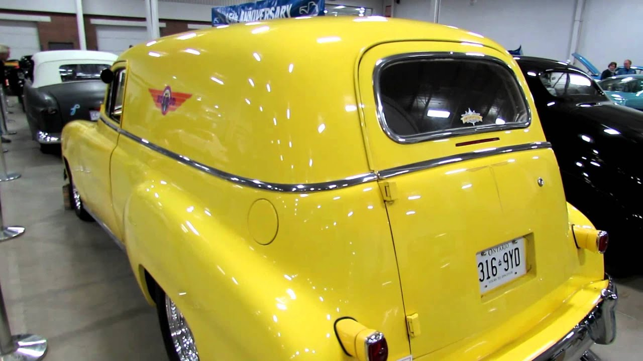 1950 Chevy Sedan Delivery Youtube 1951 Chevrolet