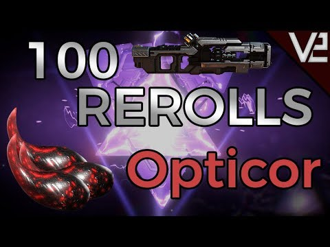 Warframe - 100 Rerolls - Opticor thumbnail