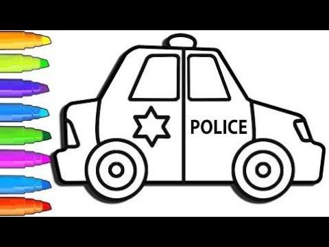 Come Disegnare Pagine Da Colorare Per Bambini Delle Auto Della