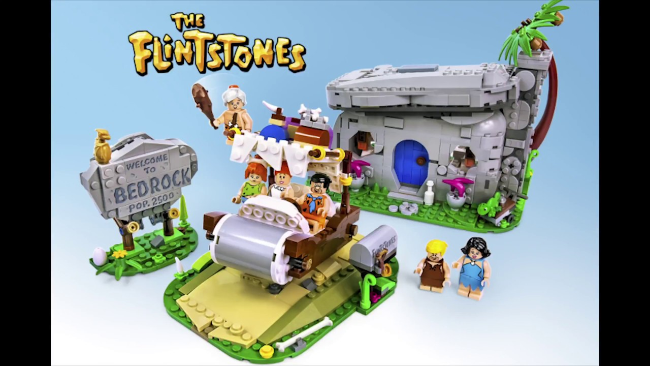 lego the flintstones youtube. Black Bedroom Furniture Sets. Home Design Ideas