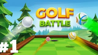 GOLF BATTLE    EPISODE 1   ONLINE GAME    SUBSCRIBE MY CHANNEL   