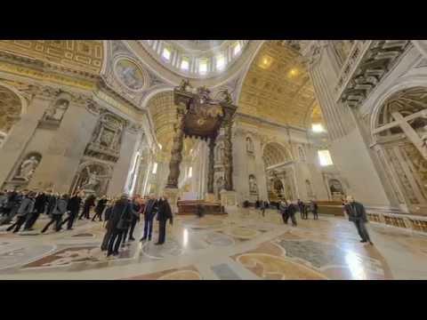 Basilica di San Pietro - Roma   Italia Virtual Tour