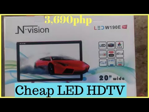 CHEAPEST LED TV in the philippines. GOOD QUALITY-| Helmz Jordan