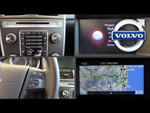 Volvo sistema multimedia 2015 | Menús y botones