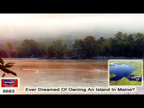 Island For Sale In Maine | Lake Living For Sale On Waterfront MOOERS REALTY #8683