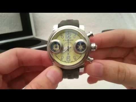 Beautiful Graham Swordfish Watch.