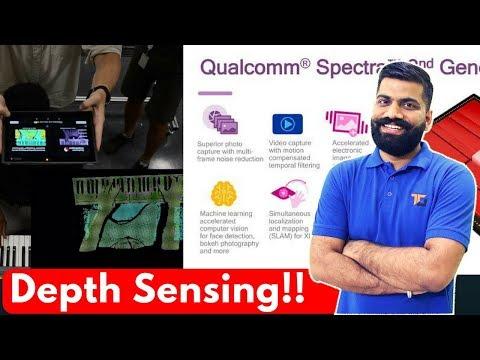 Qualcomm Depth Sensing, IRIS Scanning, Nxt Spectra ISP Gen. 2?