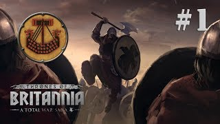 Total War Thrones of Britannia EP 1 สายเลือด Ragnar Lothbrok