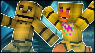 RUN! DUDE! RUN! Minecraft - Five Nights at Freddy's - Color Run - Part 1