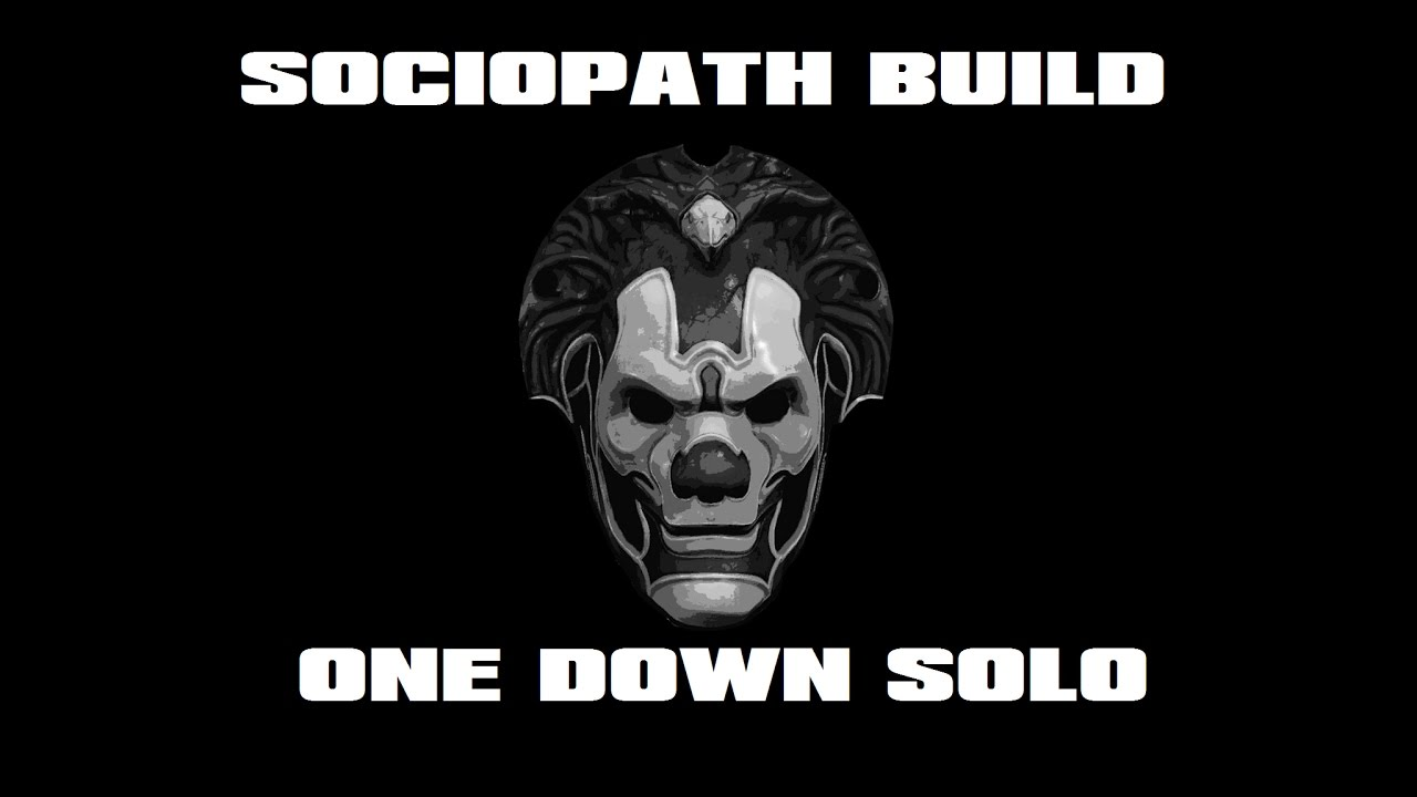 sociopath build one down solo no ai payday 2. Black Bedroom Furniture Sets. Home Design Ideas