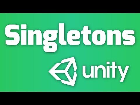 Singletons in Unity - Simple Tutorial for Beginners