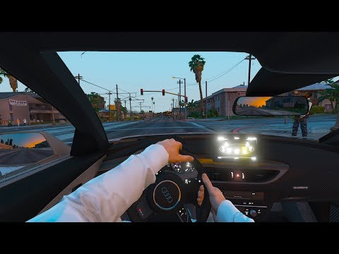Los Santos Goes to Work - Day 44 - Hitch Rideshare App Driver