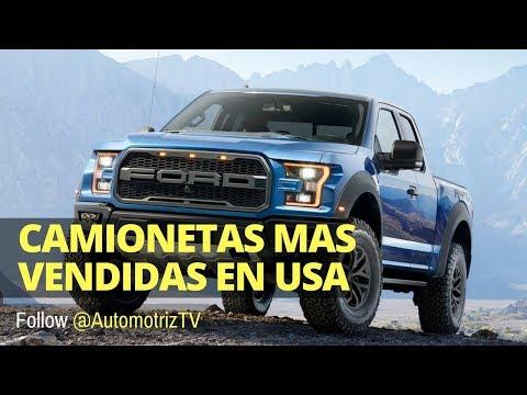 TOP 10 Camionetas mas Vendidas en Estados Unidos | AutomotrizTV