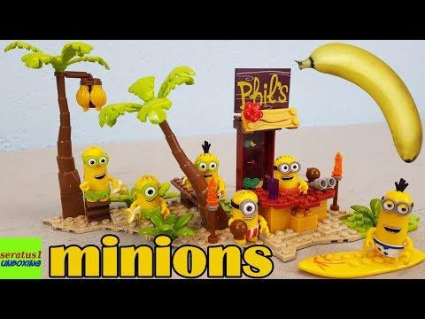 minions Banana Island Mega Bloks auspacken seratus1 unboxing
