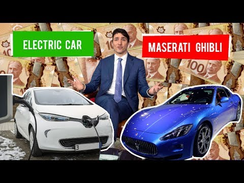 Trudeau Liberals waste $4M on electric cars
