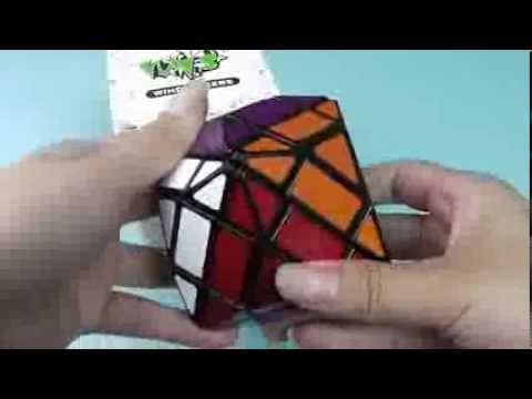 LanLan 4-Layer  (From Eachbyte.com) Rhombic Dodecahedron Magic Cube Short Review