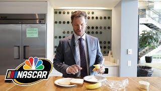 Dale Earnhardt Jr. introduces his signature mayo-banana sandwich I NASCAR I NBC Sports