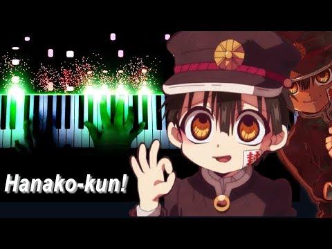 """地縛少年花子くん / Jibaku Shounen Hanako - kun OP - """"No.7"""" - Jibaku Shounen Band (Piano - ピアノ)"""