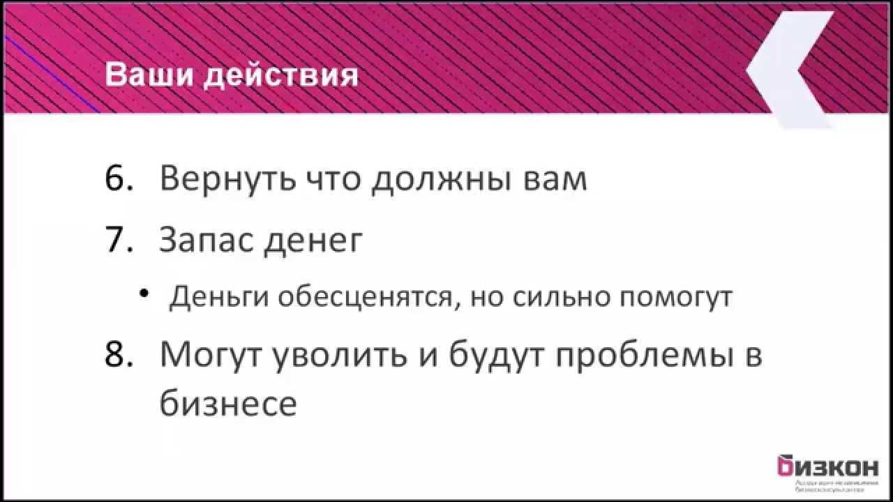 Антикризис. Часть 1. Николай Мрочковский