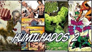 As maiores derrotas dos Quadrinhos - Parte 02