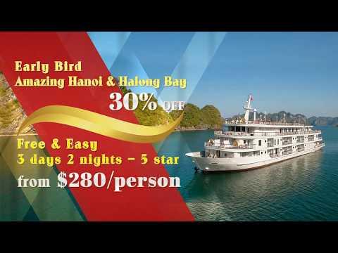 Early bird Hanoi Halong Bay luxury tour - VietnamStay Travel