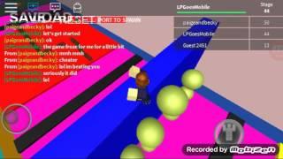 Roblox-interior Obby-estágios 35-70