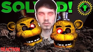 JonnyBlox Reacts to 'Game Theory: FNAF, We Solved Golden Freddy! (Five Nights At Freddy's)'