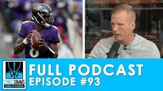 Lamar for MVP, Kirk comes up clutch, & judging Jimmy G | Chris Simms Unbuttoned (Ep. 93 FULL)