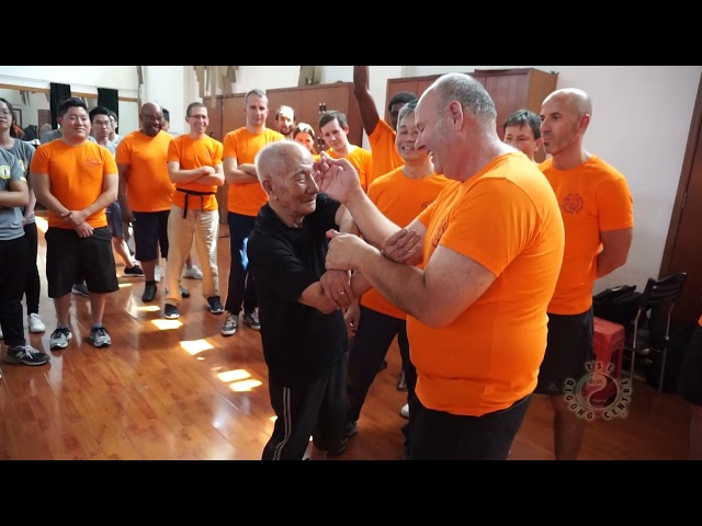 Chi Sau with Grandmaster Ip Chun pt4