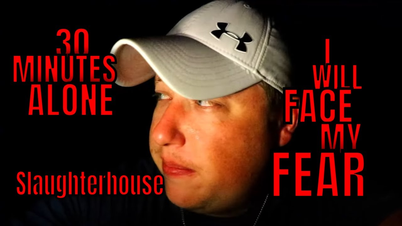 (ALONE AT THE ABANDONED SLAUGHTER HOUSE) THIS TIME ROB GOES TO FACE HIS FEARS