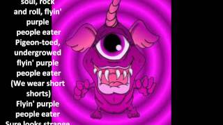 Purple People Eater Lyrics