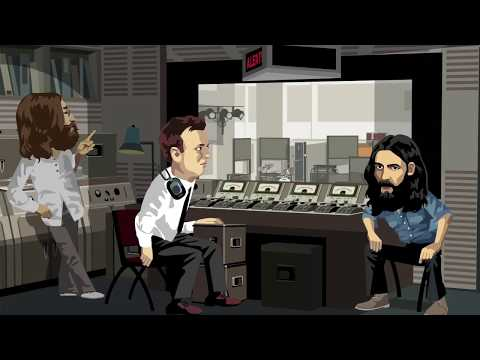 The Beatles and The Real Geoff Emerick - Last Beatoons Cartoon