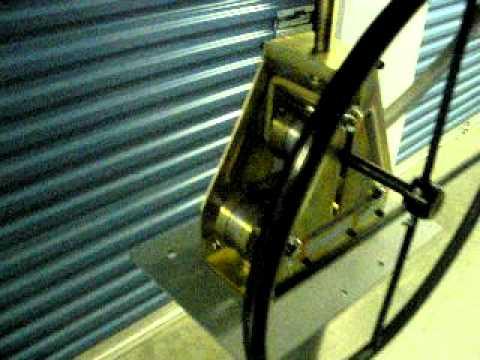 "Harbor freight tubing roller - rolling 1"" sqaure tubing - bending tubing and dies"
