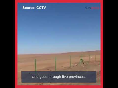 World's longest desert highway