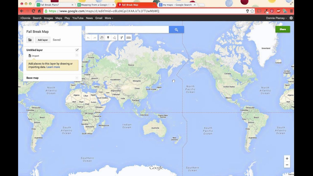creating a map from a google form in seconds youtube